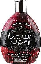 Духи, Парфюмерия, косметика Крем для загара в солярии со средними бронзантами и разогревающим эффектом - Brown Sugar Original Brown Sugar 45X