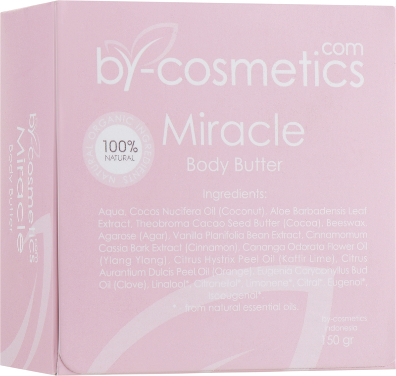 Масло для тела - By-cosmetics Miracle Body Butter — фото N5