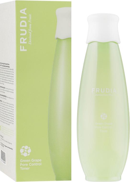 Себорегулирующий тоник для лица с виноградом - Frudia Pore Control Green Grape Toner