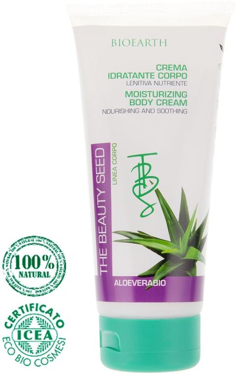 Увлажняющий крем для тела с алоэ - Bioearth The Beauty Seed Body Cream