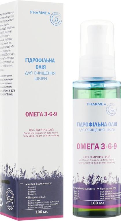 Гидрофильное масло для очищения кожи и снятия макияжа - Pharmea