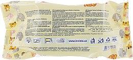 Влажные салфетки для детей с экстрактом календулы и витамином Е, с клапаном - Lili Wet Wipes — фото N2