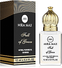 Духи, Парфюмерия, косметика Mira Max Full Of Grace - Парфюмированное масло