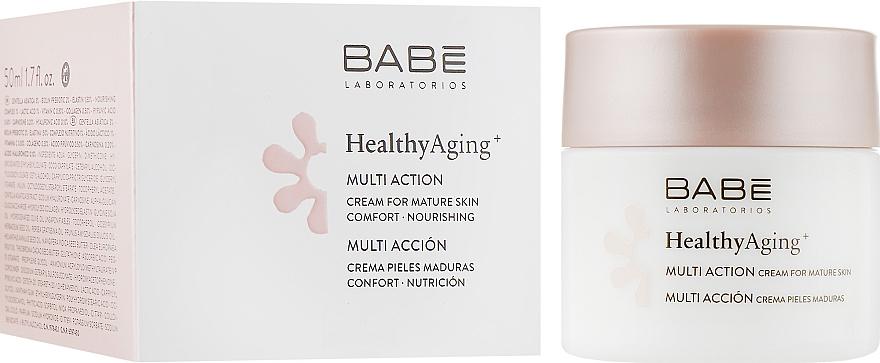 Мультифункциональный крем для очень зрелой кожи - Babe Laboratorios Healthy Aging Multi Action Cream For Mature Skin