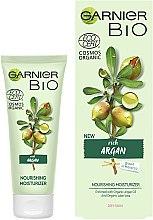 Живильний зволожувальний крем для обличчя - Garnier Bio Argan — фото N2