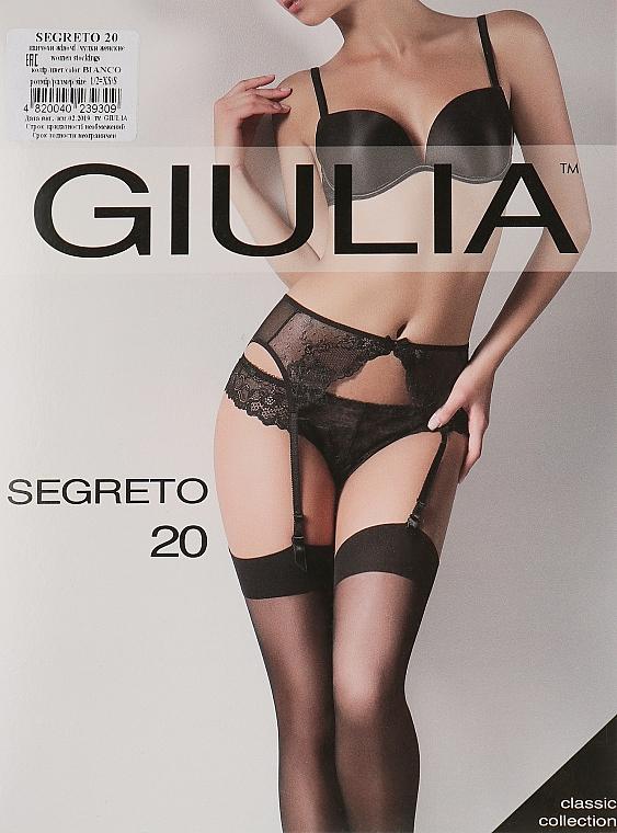 """Чулки """"Segreto """" 20 Den, bianco - Giulia"""