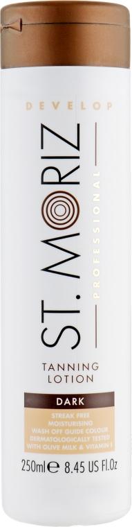 Лосьон-автозагар для тела, темный - St.Moriz Professional Tanning Lotion Dark
