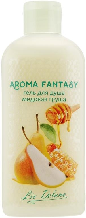"""Гель для душа """"Медовая груша"""" - Liv Delano Aroma Fantasy Bath Gel"""