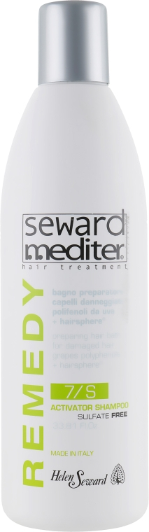 Активизирующий шампунь для реконструкции волос - Helen Seward Mediter Remedy Activator Shampoo