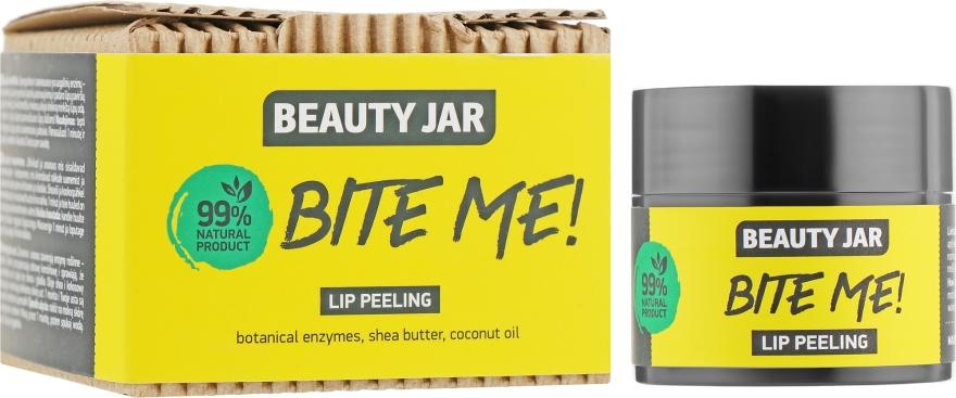 Скраб для губ с кокосовым маслом и маслом ши - Beauty Jar Bete Me Lip Peeling