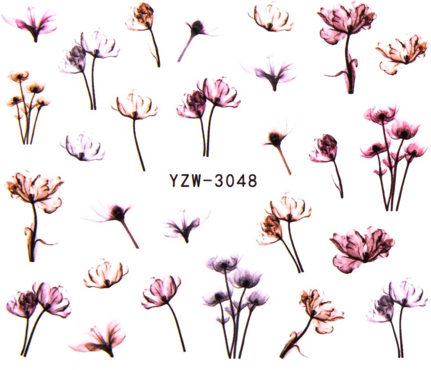 Водные наклейки для ногтей, YZW - Vizavi Professional