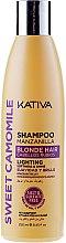 Духи, Парфюмерия, косметика Шампунь для светлых волос - Kativa Sweet Camomile Shampoo