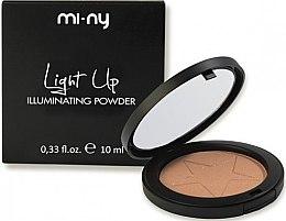Духи, Парфюмерия, косметика Пудра для сияния кожи - Mi-Ny Compact Illuminating Powder