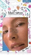 Духи, Парфюмерия, косметика Цветные переводные тату - Miami Tattoos Mur