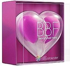 Духи, Парфюмерия, косметика Набор спонжей для макияжа - Beautyblender Original BBF Heart (sponge/2pc + 2 sachets/of/soap/2pc)