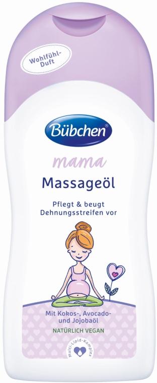 Массажное масло - Bubchen Mama Massage Oil