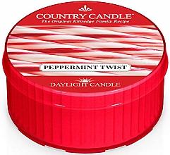 """Духи, Парфюмерия, косметика Чайная свеча """"Твист мяты перечной"""" - Country Candle Peppermint Twist Daylight"""