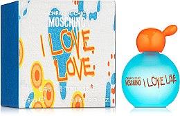 Духи, Парфюмерия, косметика Moschino I Love Love - Туалетная вода (мини)