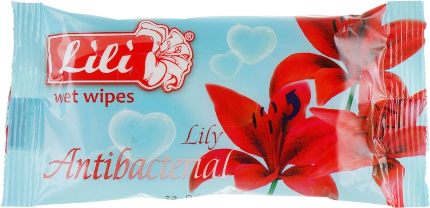 Влажные салфетки с ароматом лилии - Lili