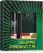 Духи, Парфюмерия, косметика Chaser Euro - Набор (edt/100ml+deo/75ml)