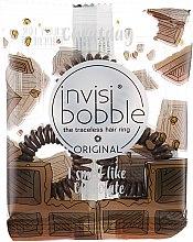 "Духи, Парфюмерия, косметика Резинка-браслет для волос ""Crazy for chocolate"" - Invisibobble"