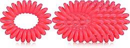 Духи, Парфюмерия, косметика Набор резинок для волос - Dessata No-Pulling Hair Ties Coral
