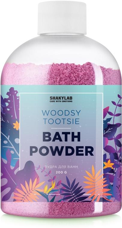 Пудра для ванны «Woodsy Tootsie» - SHAKYLAB Magic Bath Powder