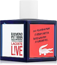 Lacoste Live Collector`s Edition - Туалетная вода — фото N2