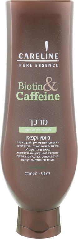Кондиционер для объема волос с биотином и кофеином - Careline Pure Essence Conditioner for Thin/Oily Hair