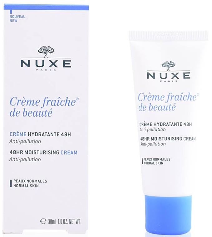 Увлажняющий крем для лица - Nuxe Creme Fraiche de Beaute Moisturising Cream 48H