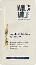 Духи, Парфюмерия, косметика Антивозрастной шампунь для укрепления корней и волос - Marlies Moller Ageless Beauty Shampoo (пробник)