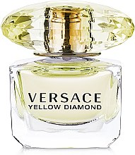 Versace Yellow Diamond - Туалетная вода (мини) — фото N2