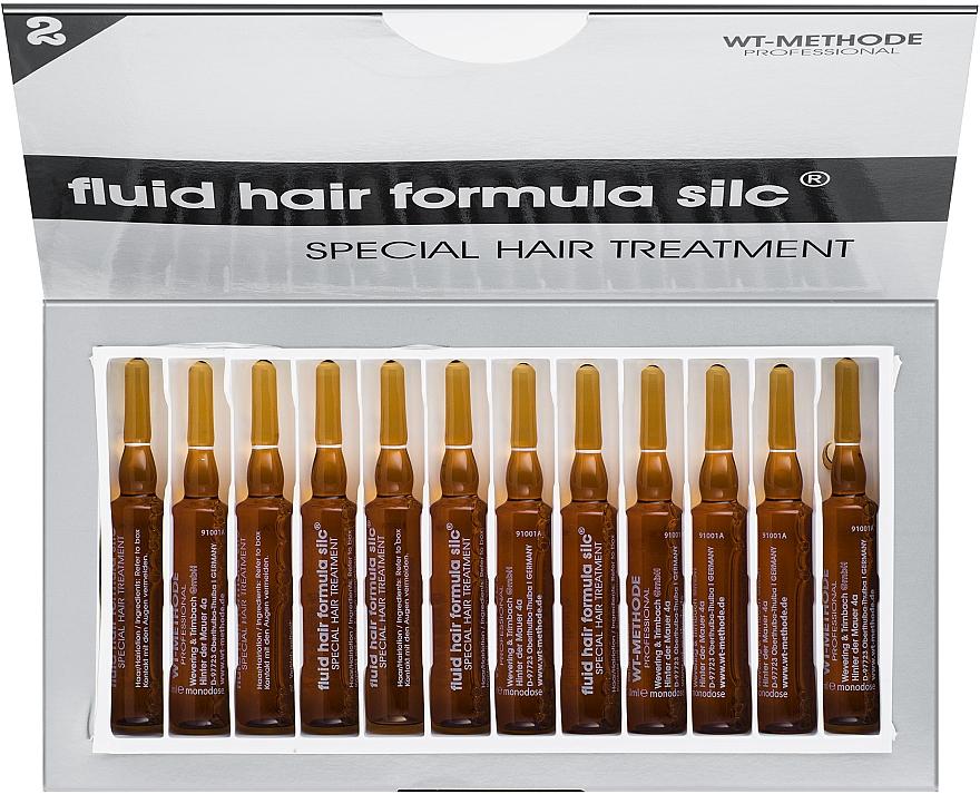 """Жидкий кератин для восстановления структуры волос """"Формула силк"""" - Placen Formula Fluid Hair Formula Silc Special Hair Treatment"""
