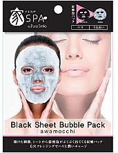 Духи, Парфюмерия, косметика Очищающая маска для лица - Pure Smile Black Sheet Bubble Pack Mask