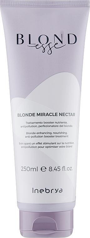 Маска для волос оттенков блонд - Inebrya Blondesse Blonde Miracle Nectar