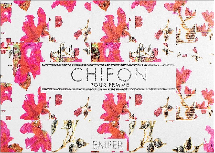 Emper Chifon - Набор (edp/100 ml + deo/spray/200 ml + b/lot/100 ml)