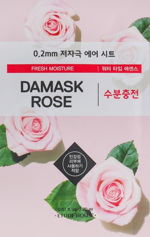 Ультратонкая маска для лица с экстрактом дамасской розы - Etude House Therapy Air Mask Damask Rose