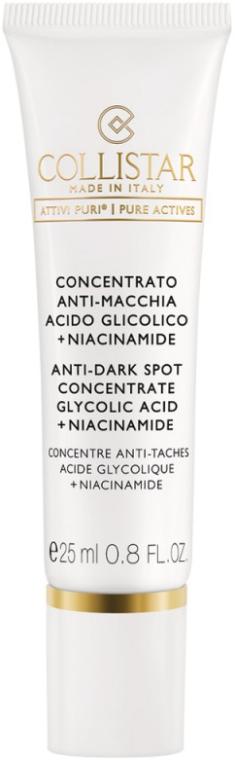 Концентрат против пигментных пятен - Collistar Anti-Dark Spot Concentrate Glycolic Acid/Niacinamide (тестер)