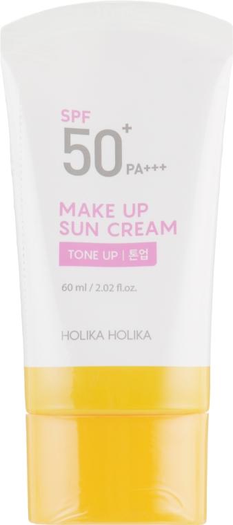 Солнцезащитный крем-база под макияж - Holika Holika Make-up Sun Cream SPF 50+ PA+++