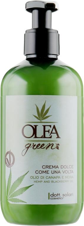 Смягчающий крем для волос с маслом конопли и ежевики - Dott. Solari Olea Green Crema Dolce Come Una Volta