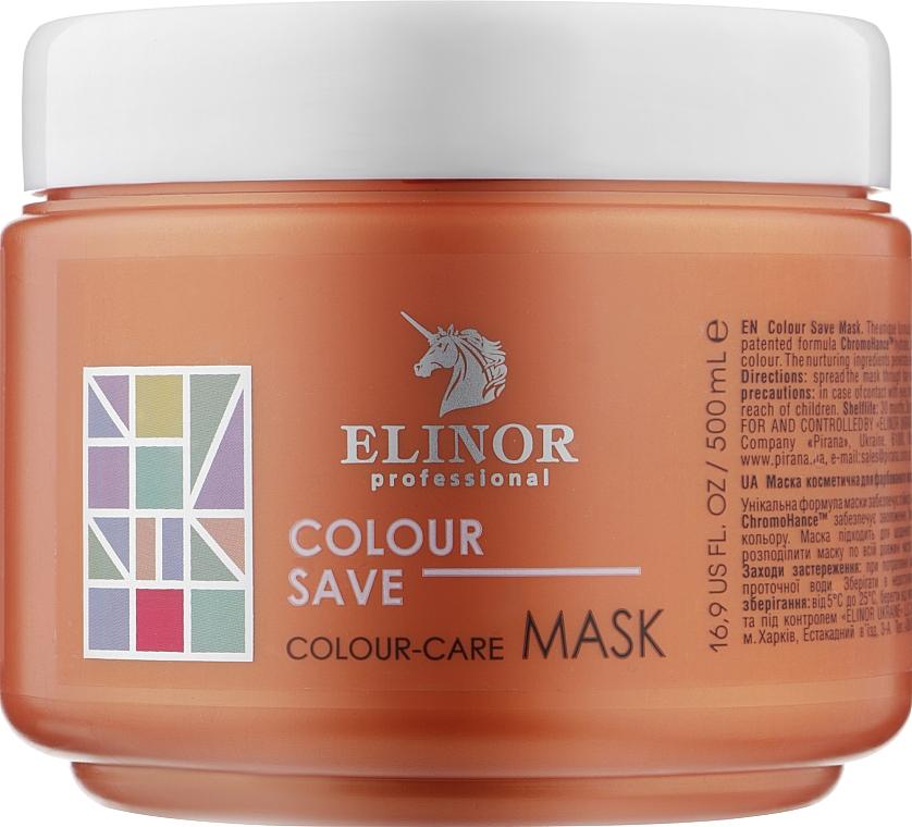 Маска для окрашенных волос - Elinor Colour Save Mask