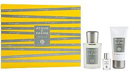 Духи, Парфюмерия, косметика Acqua Di Parma Colonia Pura - Набор (edc/100ml + sh/gel/50ml + edc/mini/5ml)