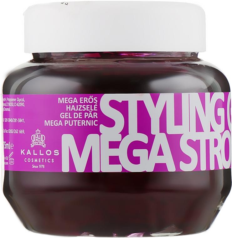 Гель для моделирования волос мегасильной фиксации - Kallos Cosmetics Styling Gel Mega Strong