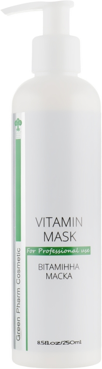 Витаминная маска для лица - Green Pharm Cosmetic Vitamin Mask