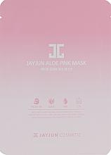 Духи, Парфюмерия, косметика Тканевая маска для лица с экстрактом алоэ и комплексом розовых цветов - JayJun Aloe Pink Mask
