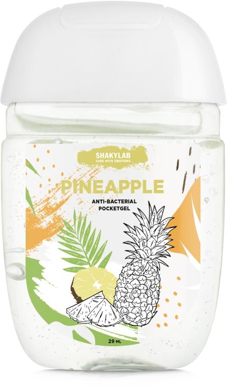"Антибактериальный гель для рук ""Pineapple"" - SHAKYLAB Anti-Bacterial Pocket Gel"