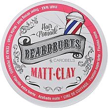 Духи, Парфюмерия, косметика Глина для волос с матовым эффектом - Beardburys Matt-Clay Carobels