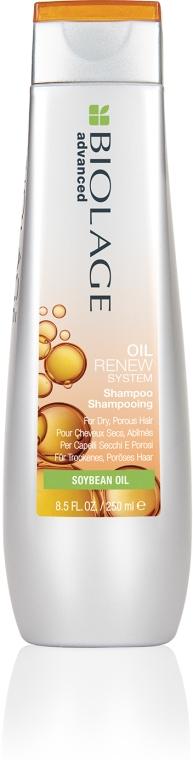 Шампунь для сухих и пористых волос - Biolage Oil Renew Shampoo