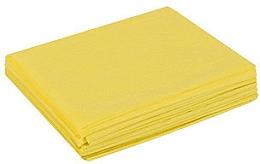 Духи, Парфюмерия, косметика Простыни из спанбонда, в пачках, 0,6х2м, 50шт, желтые - Doily