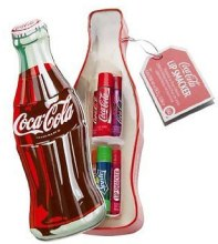 Духи, Парфюмерия, косметика Набор бальзамов для губ - Lip Smacker Coca-Cola Mix (balm/6x4g)